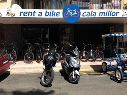 Rent a Bike Cala Millor