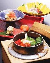 Japanese Cuisine Kamamesi Tanuki
