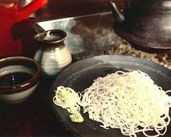 Homemade Soba Mishima Sunaba