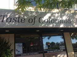 Taste of Colombia Fair Trade Coffee Shop