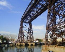Puente Transbordador Nicolas Avellaneda