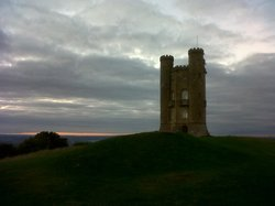 Broadway Tower, just a few minutes drive away