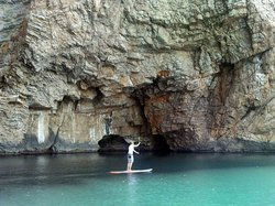 Cala Montgo stand up paddle