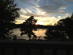 Enjoyable sunset