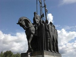 Monument In Memory of the Ledovoye Battle