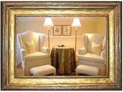 Sitting area in the Georgian Room