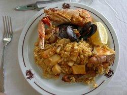 Paella di pesce!!!