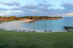 Resort side beach