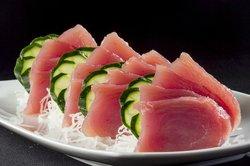 Sashimi de Atum Pequeno