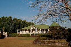 Roseville House from the park