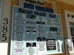Happy Cow Ice Cream Shop