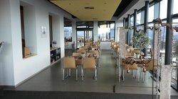 Dining Glass Porch area   - Hotel Schynige Platte