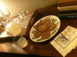 Cookies fresquinhos as 5 da tarde