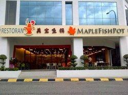 Maple Fish Pot