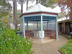 BBQ area at Quality Inn Margaret River