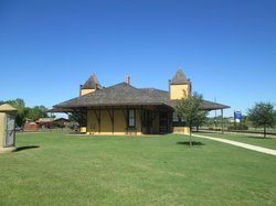 Hearne Railroad Museum Depot