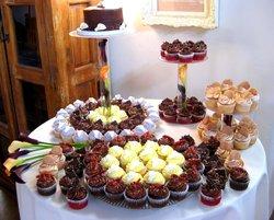 Gold Rush Cupcakes