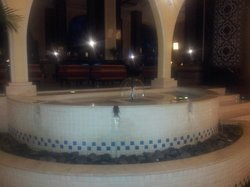 Fountain at Entry of Hotel