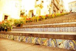 Staircase of Santa Maria del Monte