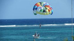 Parasailing in Belize (79237177)