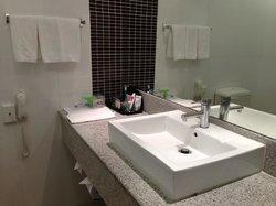 Perfect clean bathroom