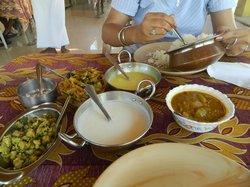 Having Keralan Lunch