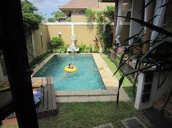 pool in 3bdr villa