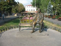Monument to L. Utesov