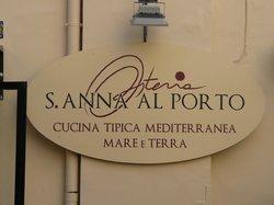 Osteria S. Anna Al Porto