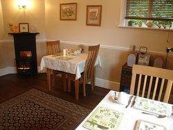 And a warm fire, toast jam / marmalade, tea coffee or hot chocolate.