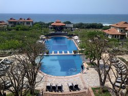 View from Balcony: Main Pool