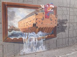 동피랑 벽화 마을