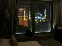 Vue nocturne depuis la chambre