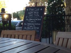 Pony Club Wine Bar