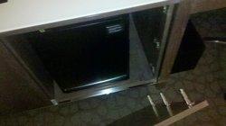 Cabinet door falls off