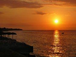 Sonnenuntergang Westseitig