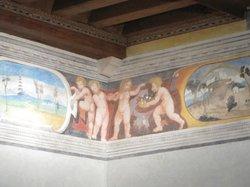 Valvasone Castle - Inside frescoes