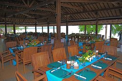Dining Pavilion Wedding Reception