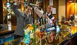 Cocktails at Leopard Bar and Restaurant