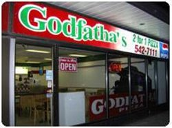 Godfatha 2 For 1 Pizza