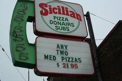 Sicilian Pizza Donairs Subs