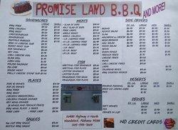 Promise Land Bar-B-Que