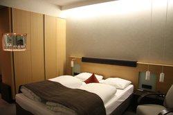 La mia camera al Novotel di Karlsruhe City