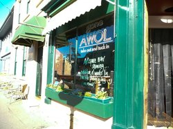 Gone AWOL cafe