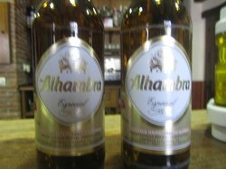 The regional beer at Bar Piqui