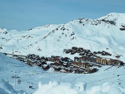 6km Toboggan Run Val Thorens