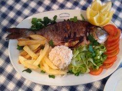 stuffed grilled fish