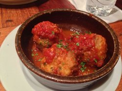 Tomato meatball