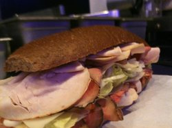 Louie K's Club Sandwich