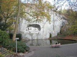 Dying Lion of Lucerne Monument